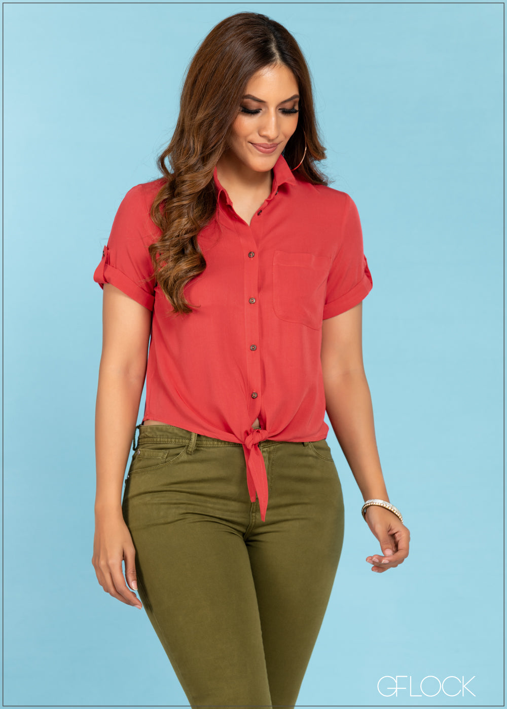 Hem Tie Up Top - GFLOCK.LK