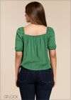 Square Neck Top - GFLOCK.LK