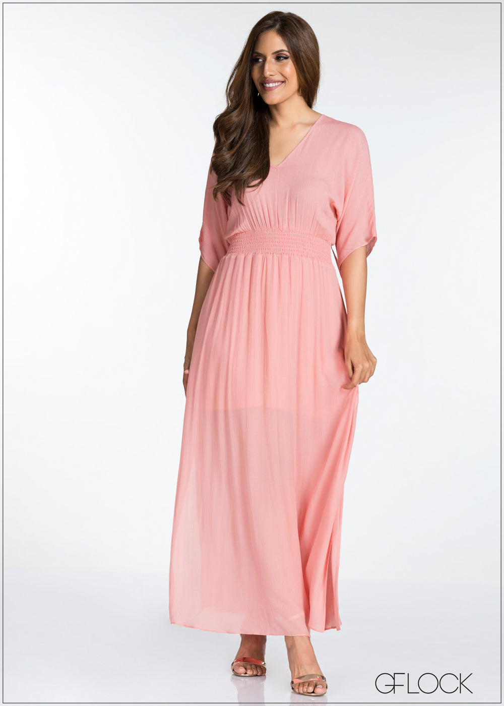 Back Detailed Maxi Dress
