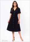 Front Button Down Dress