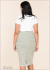 Striped Skirt - GFLOCK.LK