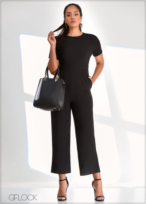 Short Sleeved Jumpsuit - WW0219