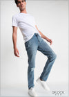 Regular Fit Light Washed Ripped Jean - MD0224