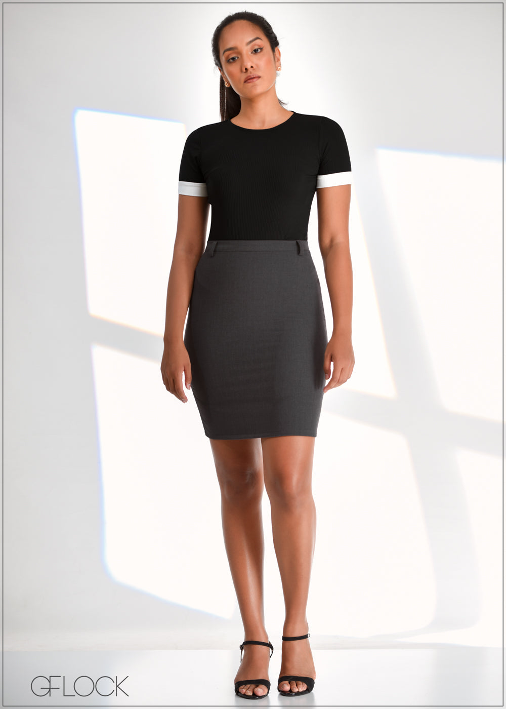 Workwear Mini Skirt - WW0219