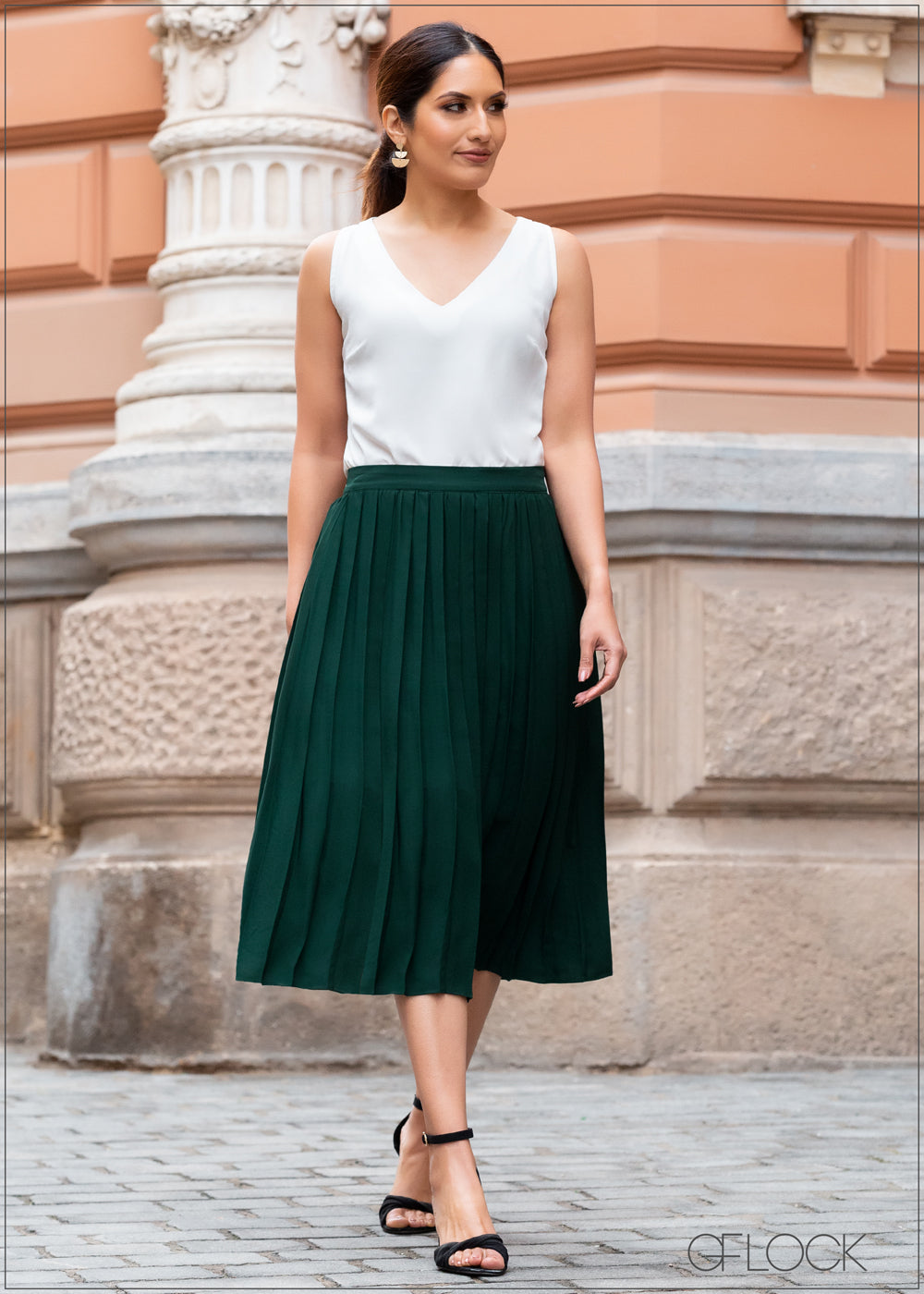 Pleated Skirt - WW2301