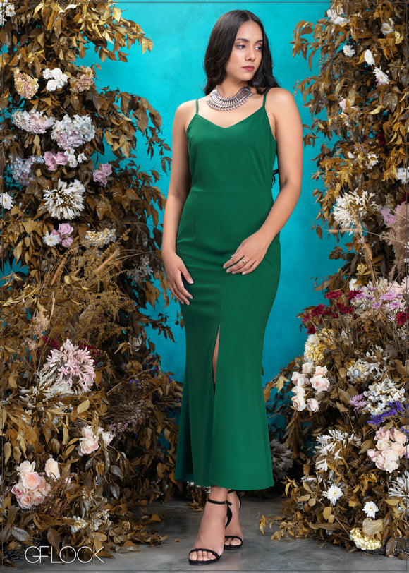 Fitted Maxi Dress - Eve 2312