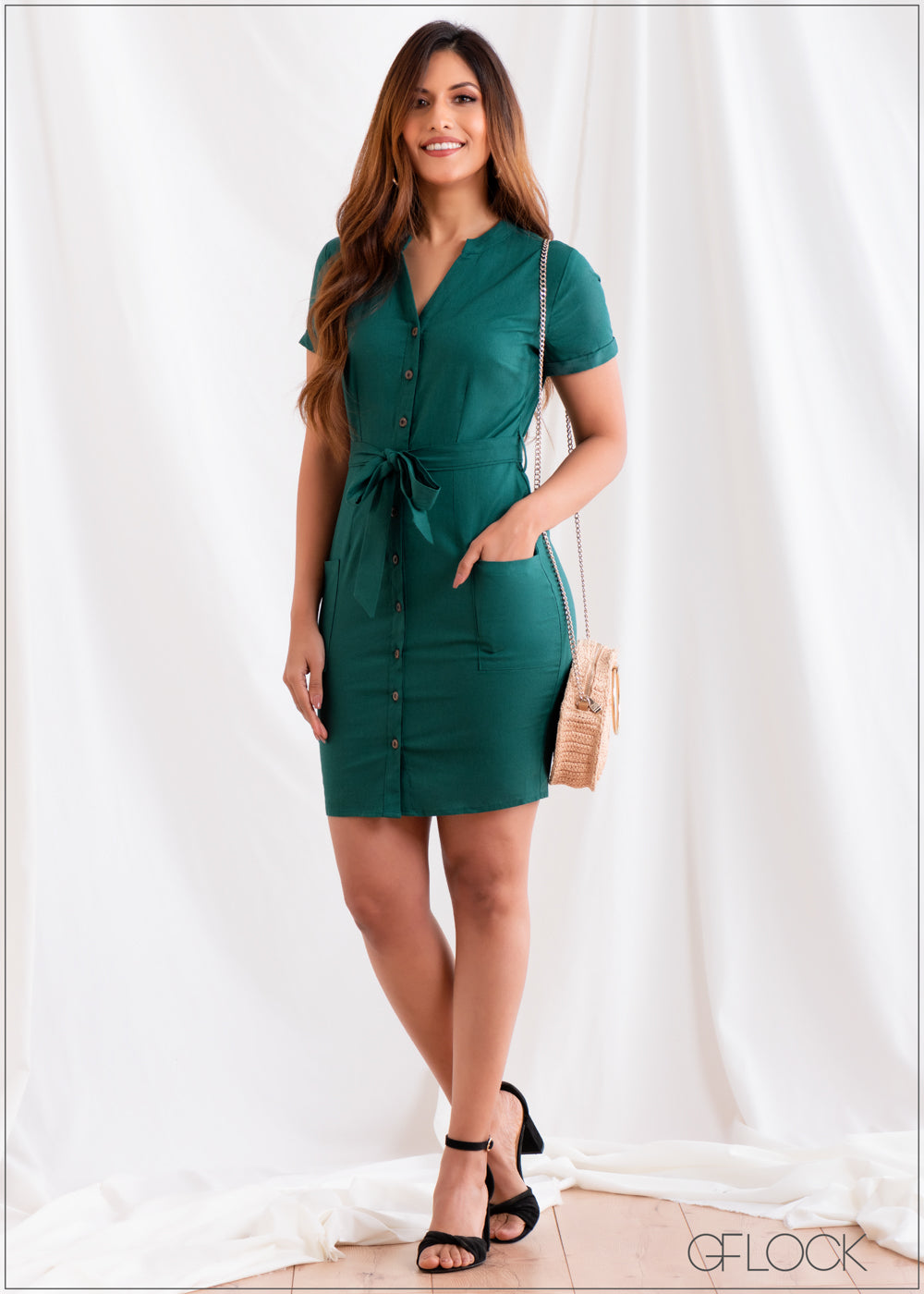 Regular Fit Dress - Linen 2501