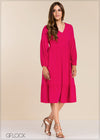 Puff Sleeve Dress - GFLOCK.LK