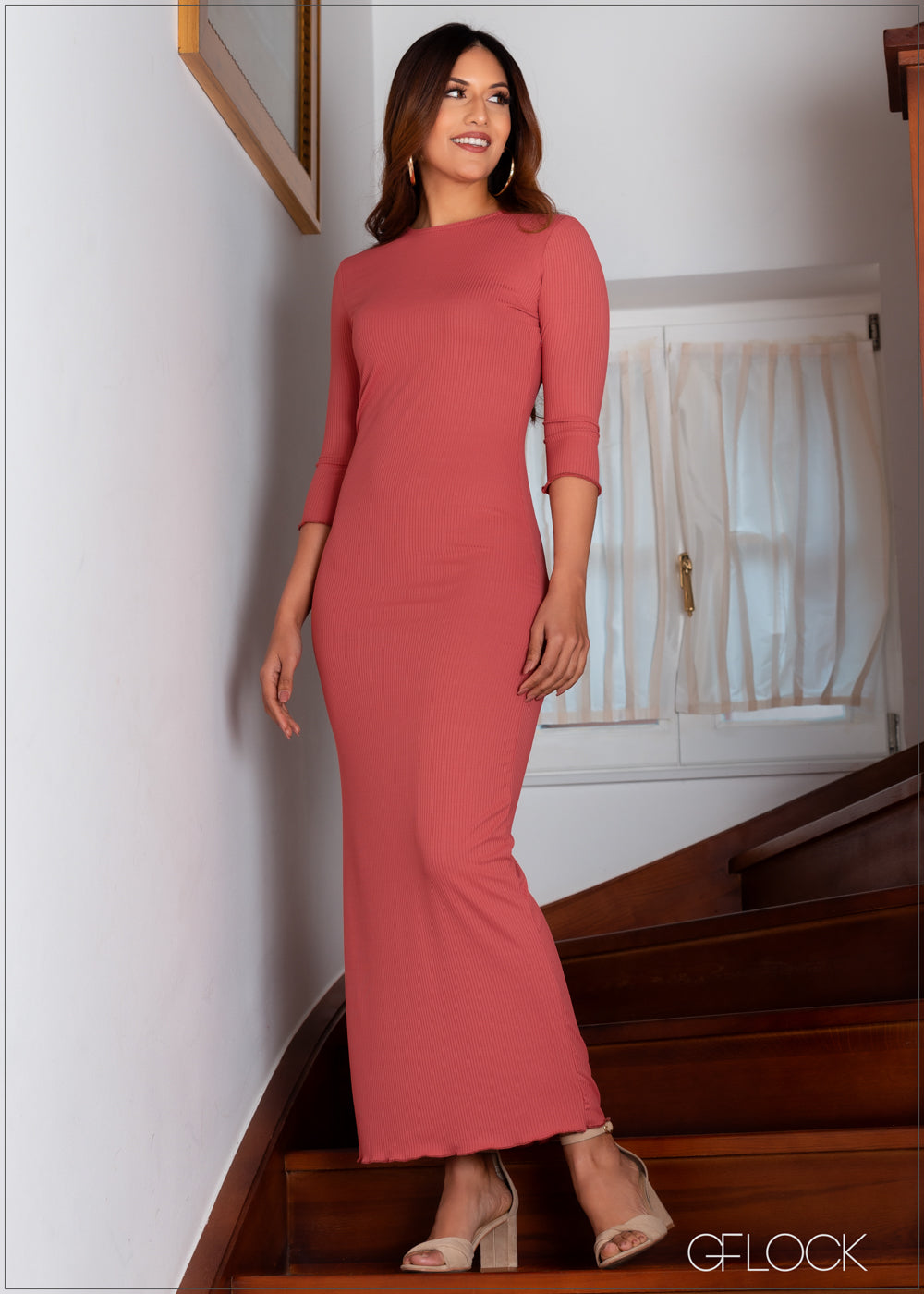 Maxi Ribbed Dress - RIB 1401