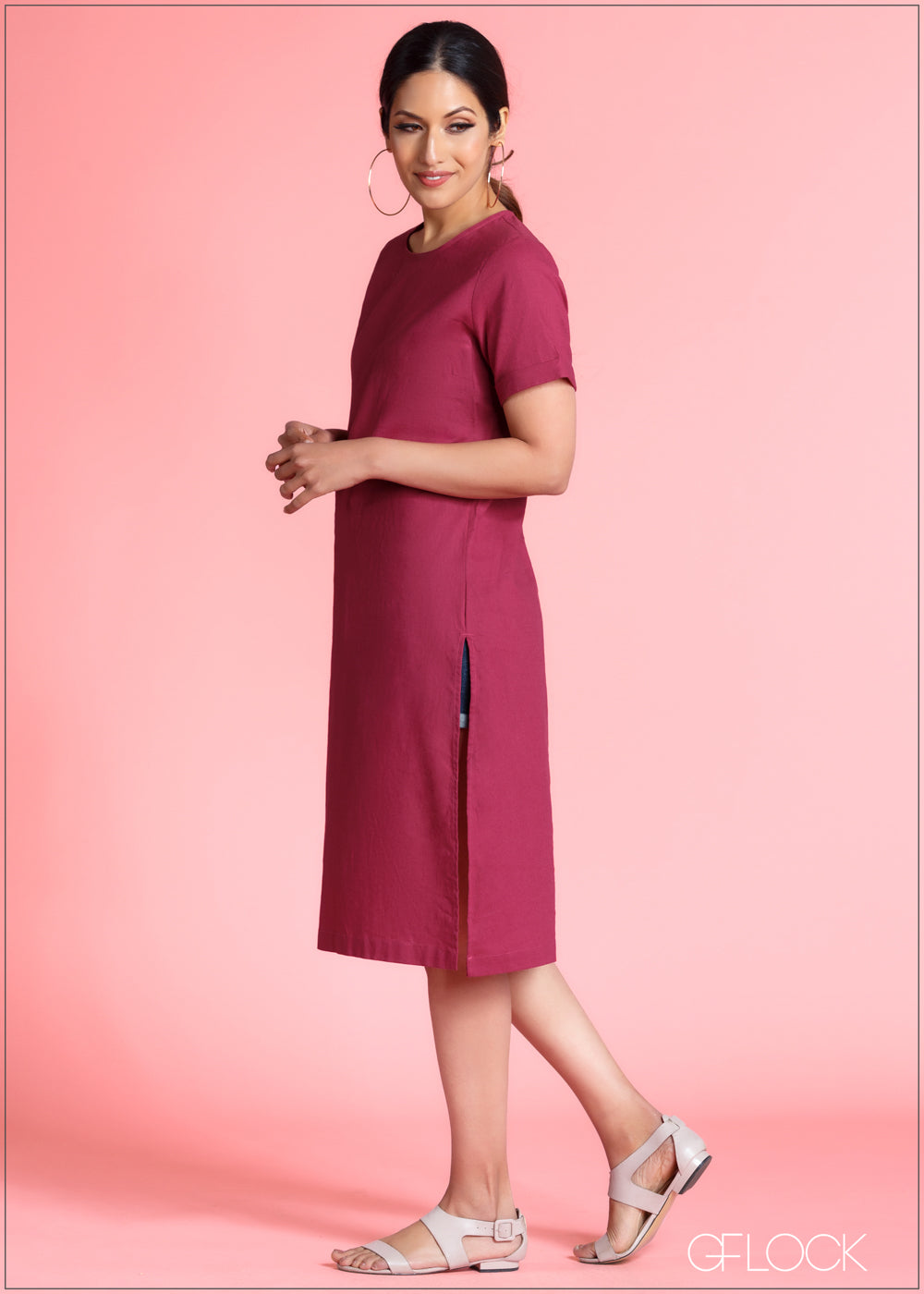 Long Top With Slit - 364