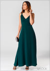 Maxi Dress with Gathered Top - Eve 312