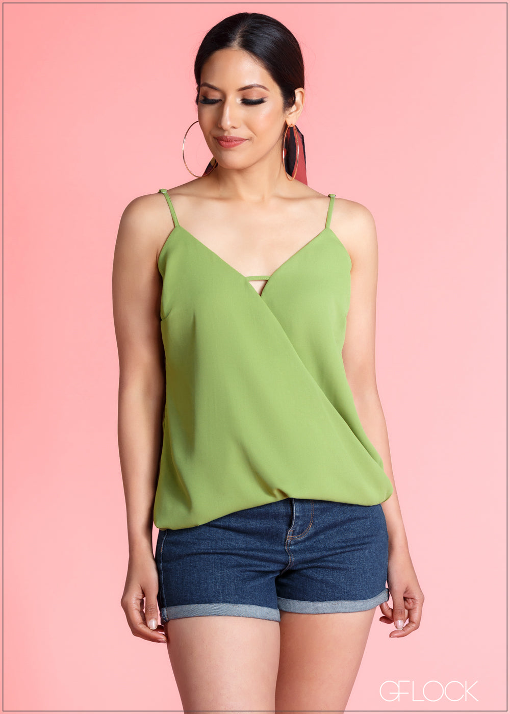 Wrap Detail Cami Top - CS324