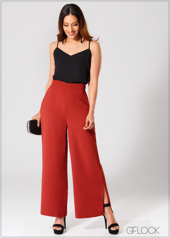 Pant with Slit - 361