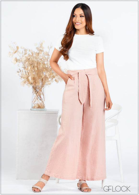 Pant with Front Tie - 366