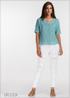 Sleeveless Linen Top - GFLOCK.LK