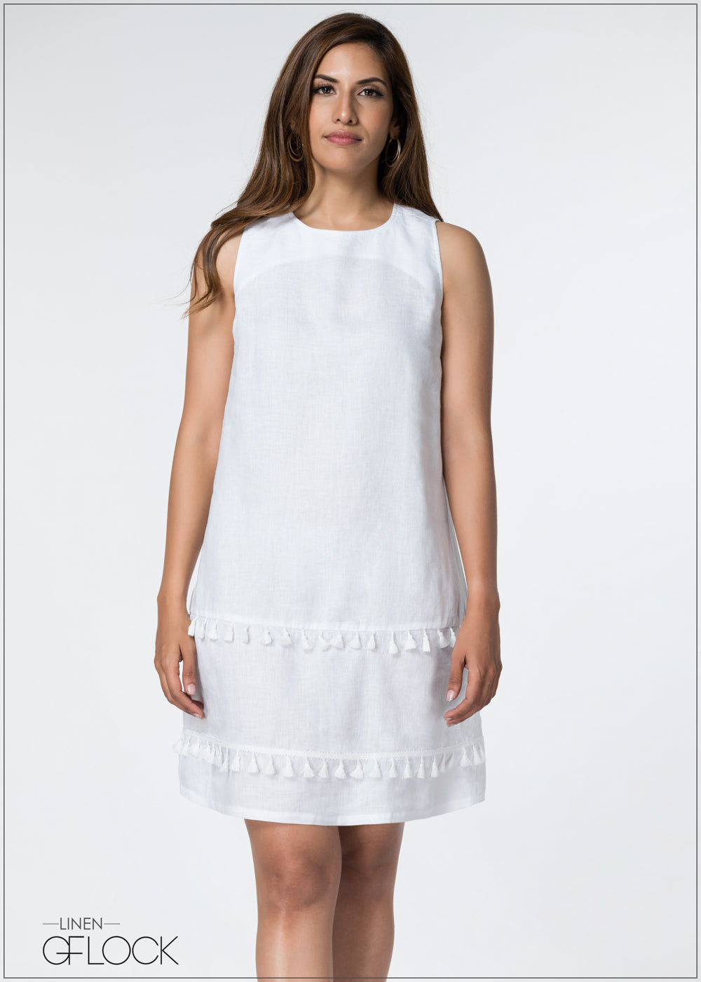 Tussle Detailed Shift Dress