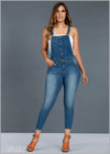 Light Washed Dungaree - GFLOCK.LK