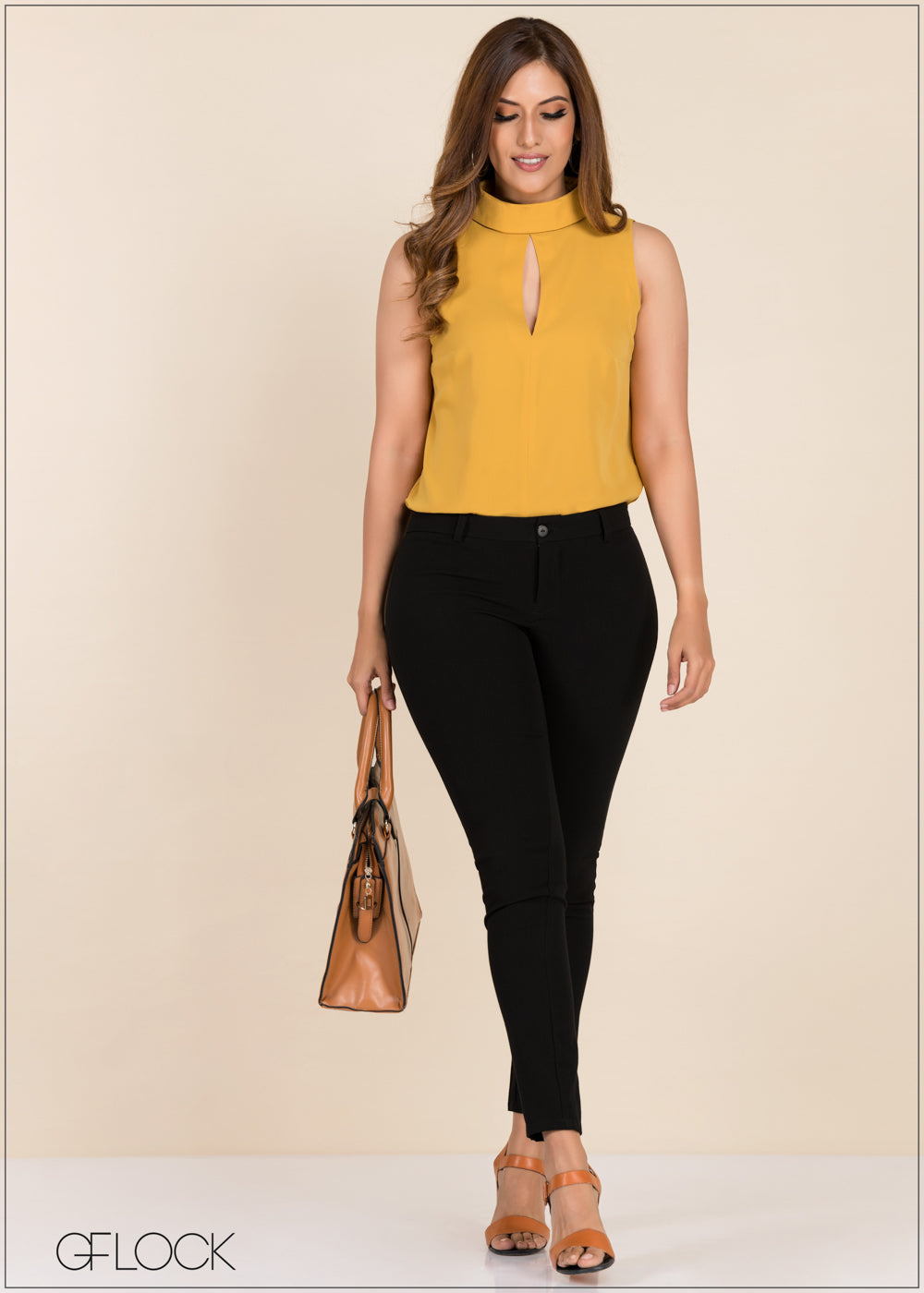Sleeveless Top - GFLOCK.LK
