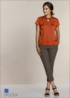 Satin Short Sleeve Workwear Top - GFLOCK.LK