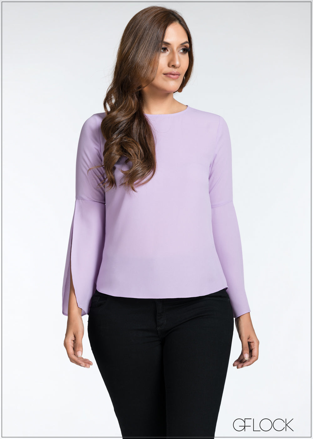 Flared Sleeve Top - GFLOCK.LK