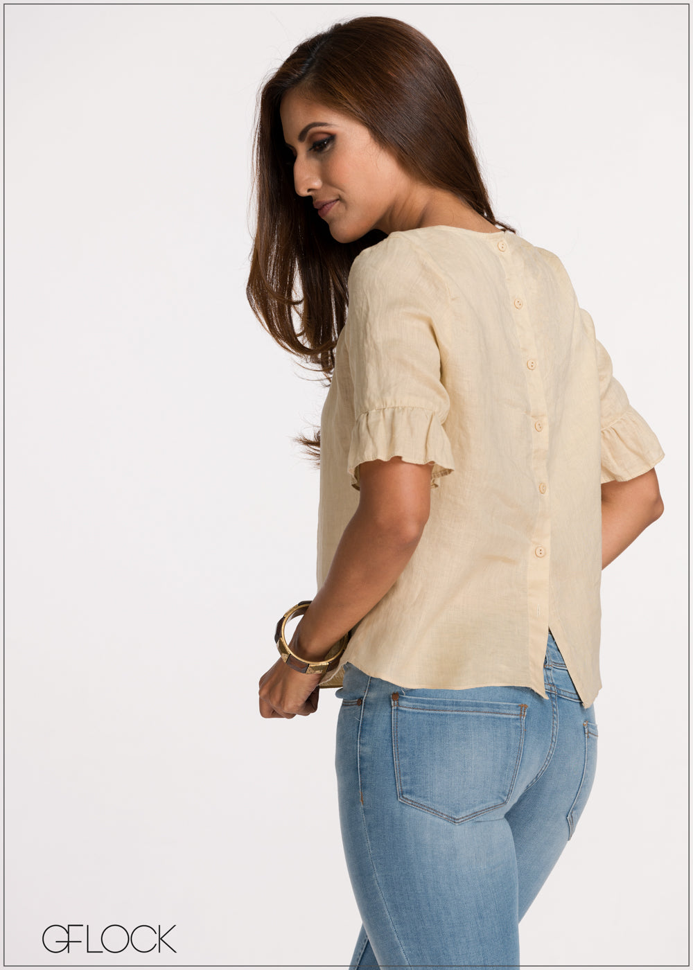 Day Outing Linen Top