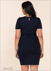 Knit Bodycon Dress - GFLOCK.LK