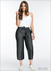 Waist Tie Detailed Pant - GFLOCK.LK