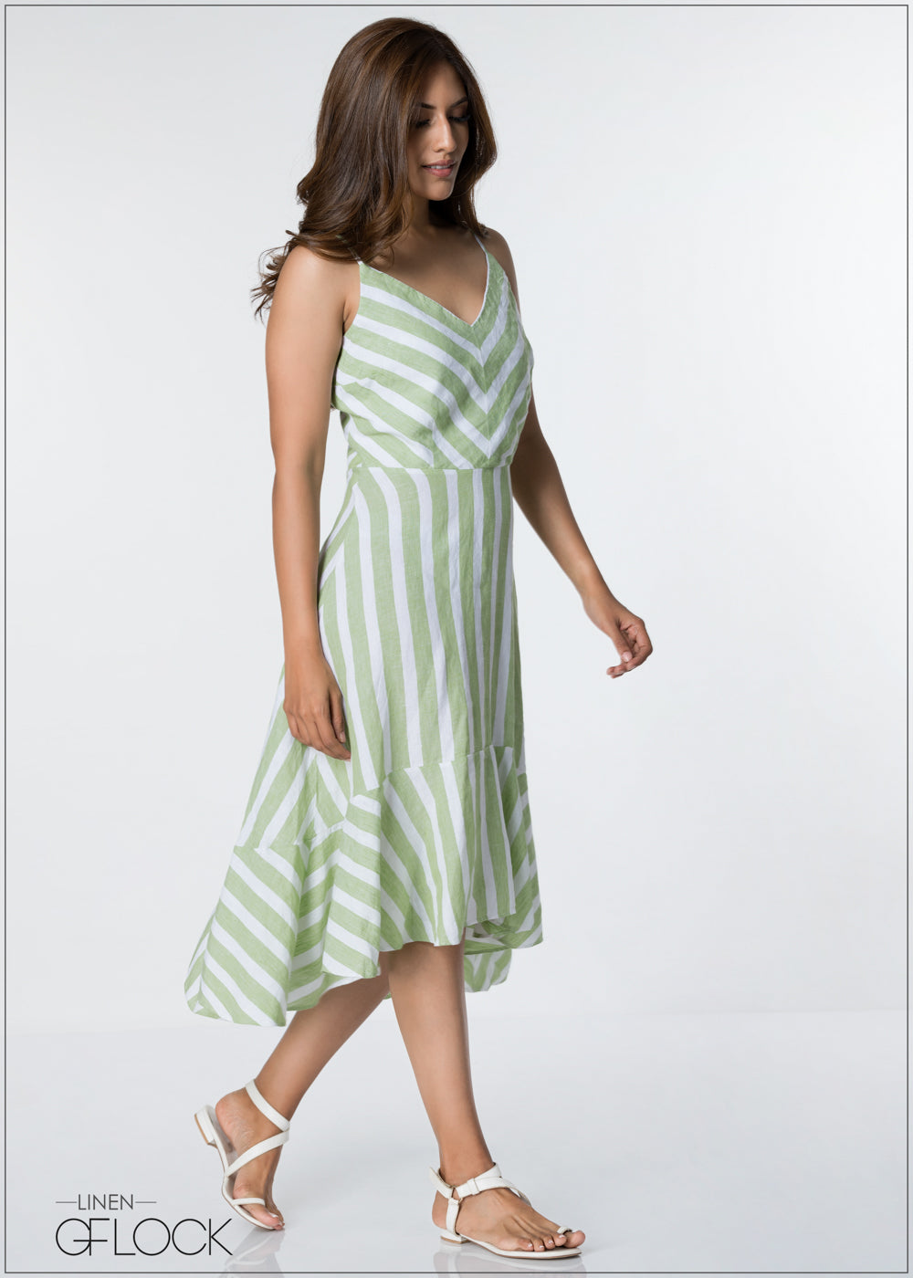 Summer Beach Linen Dress
