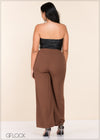 High Waist Flared Pant - GFLOCK.LK