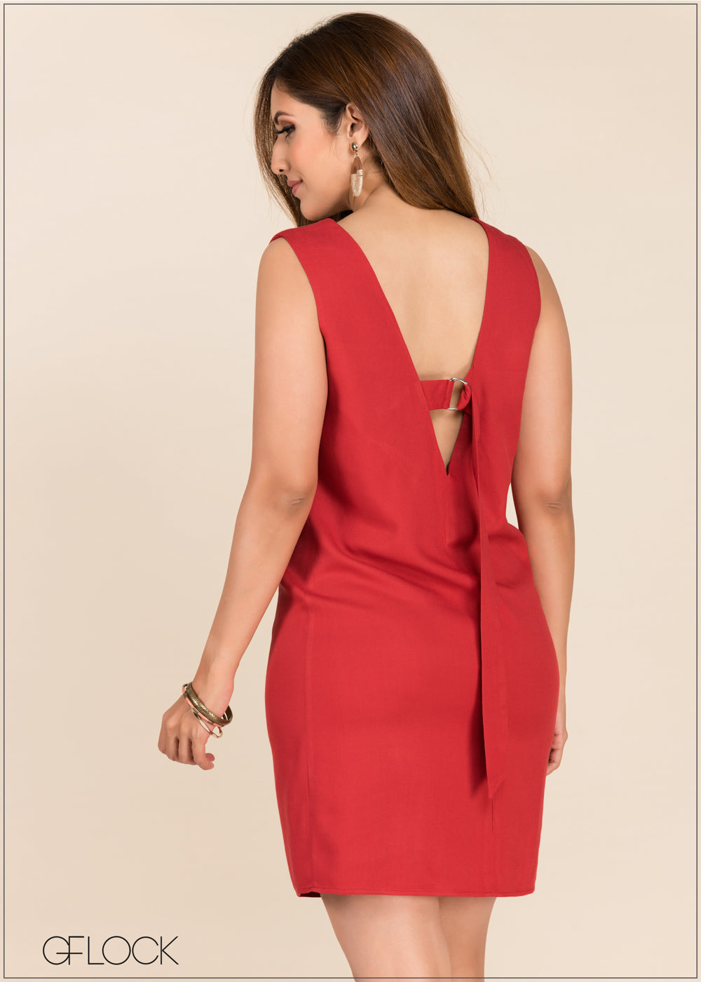 Back Detailed Dress