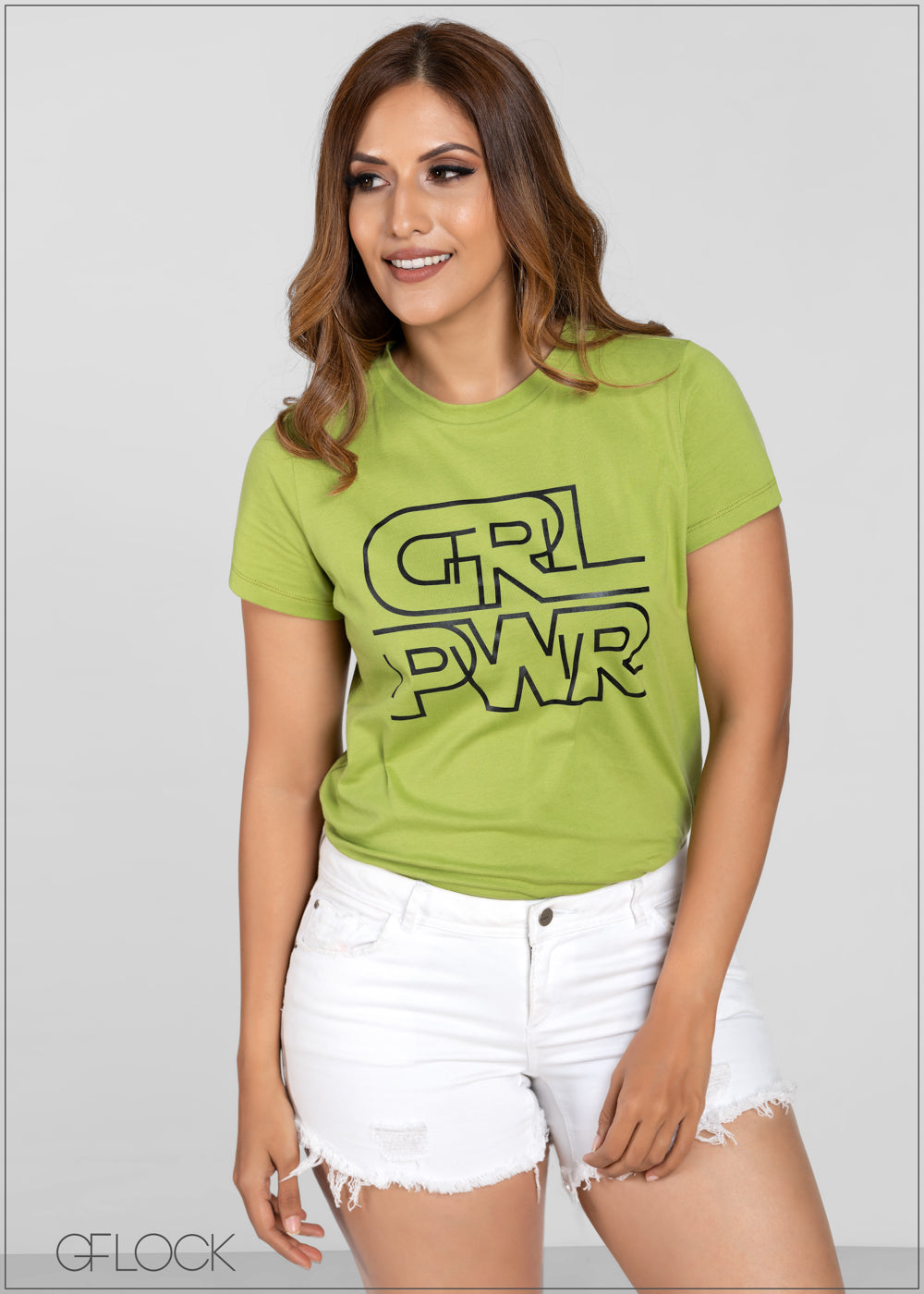 Girl Power Tee - GFLOCK.LK