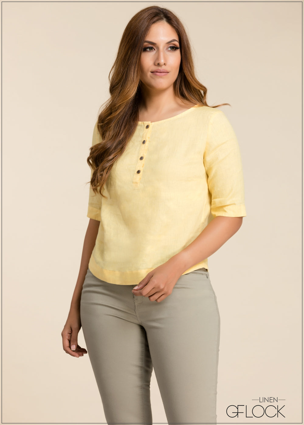 Casual Linen Top