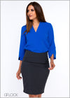 Sleeve Slit Workwear Top