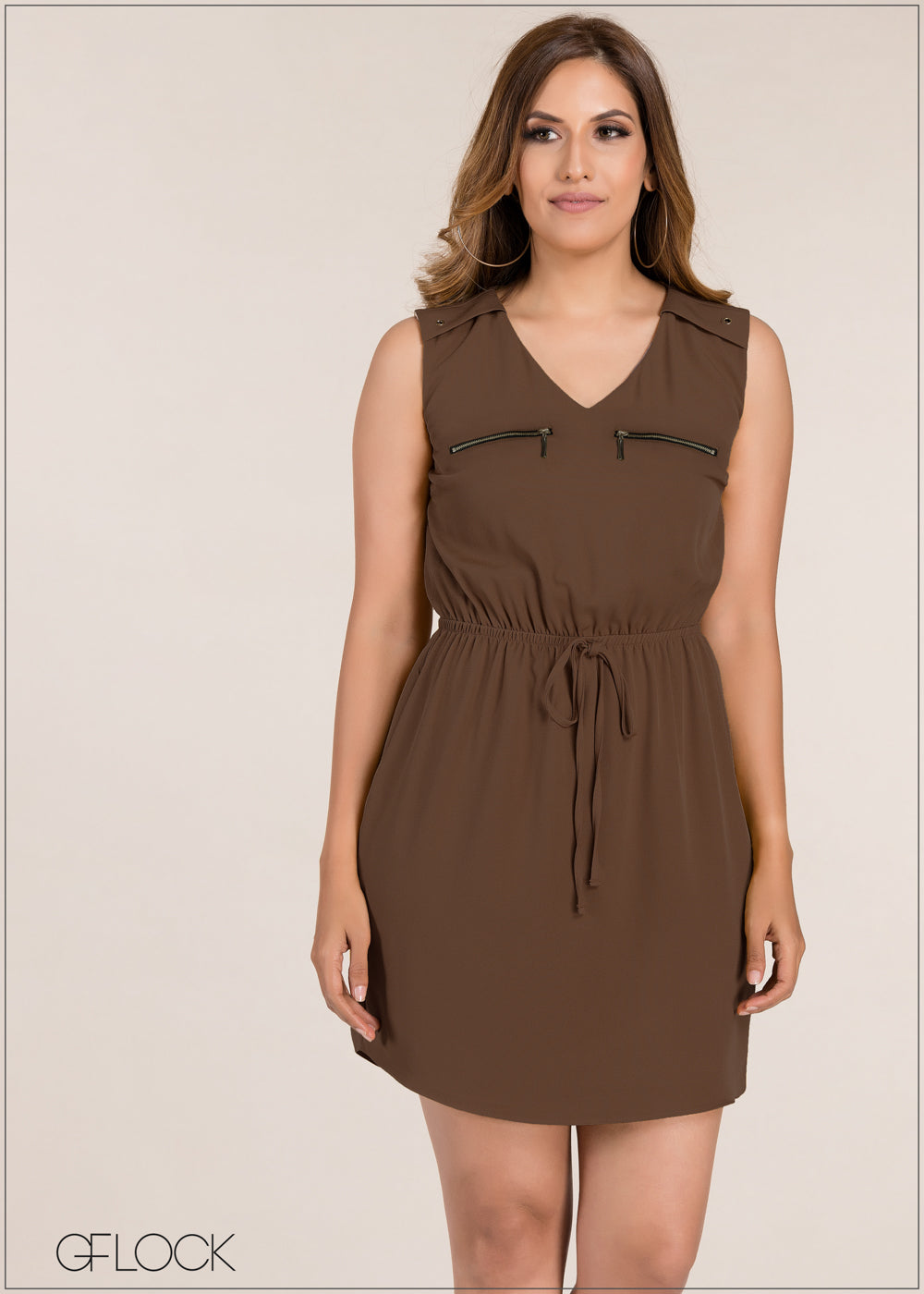 Pocket Detailed Dress - GFLOCK.LK