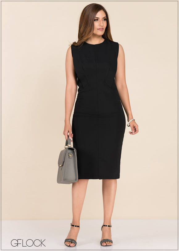 Dress With Front Detail - GFLOCK.LK