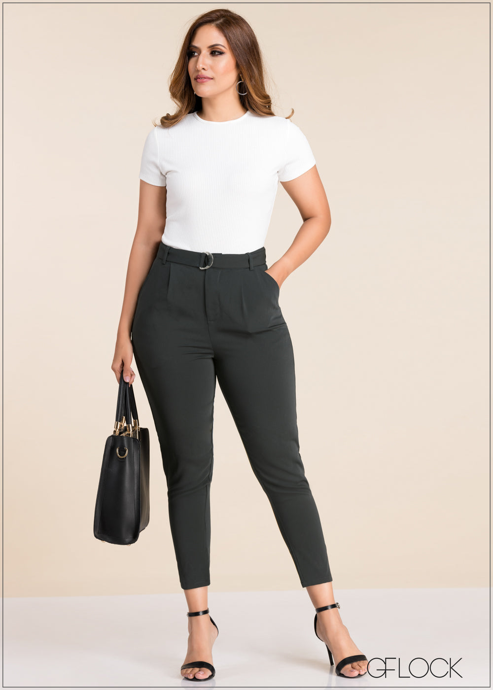 High Waist Trapped Pant - GFLOCK.LK