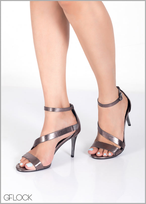 Criss Cross Ankle Strap Stiletto