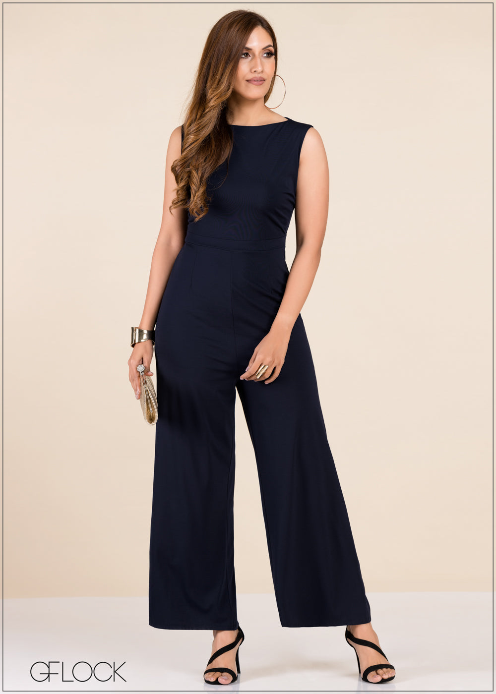 Boat Neck Jumpsuit - GFLOCK.LK