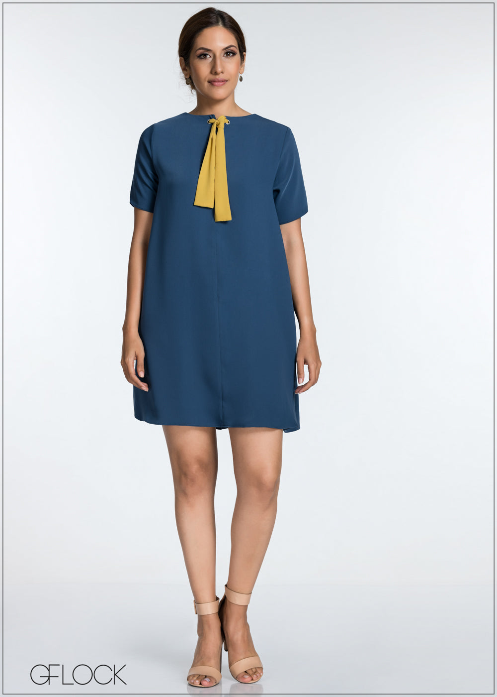 Two Way Dress With Front Tie - GFLOCK.LK