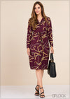 Chain Printed Dress - GFLOCK.LK