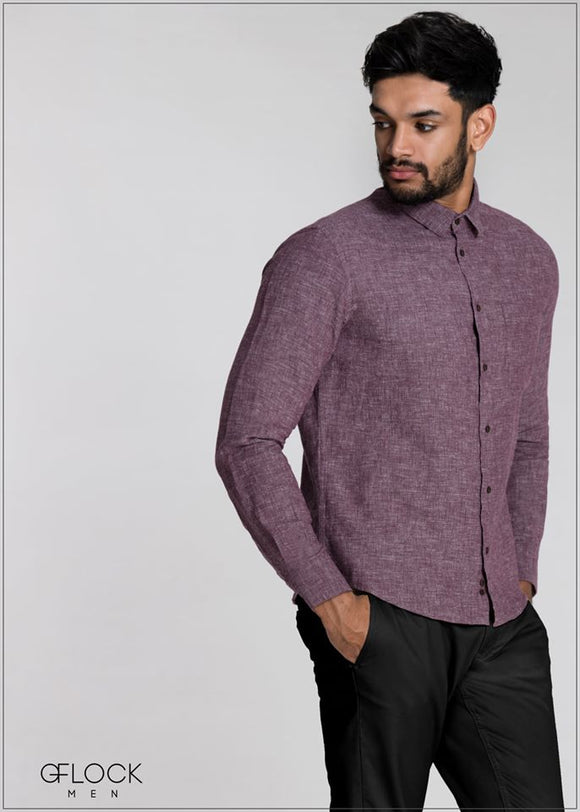 Cotton Long Sleeve Shirt