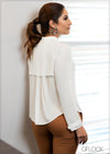 Back Pleat Detail Top