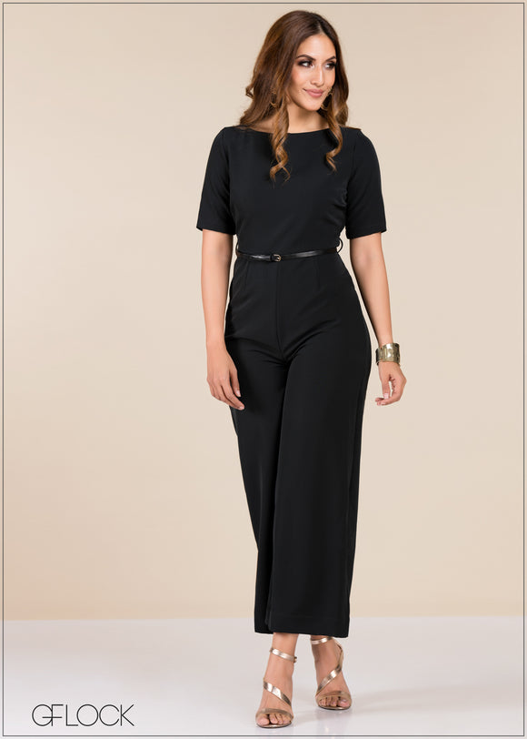 Short Sleeve Jumpsuit - GFLOCK.LK