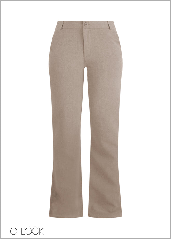 Flair Leg Workwear Pant