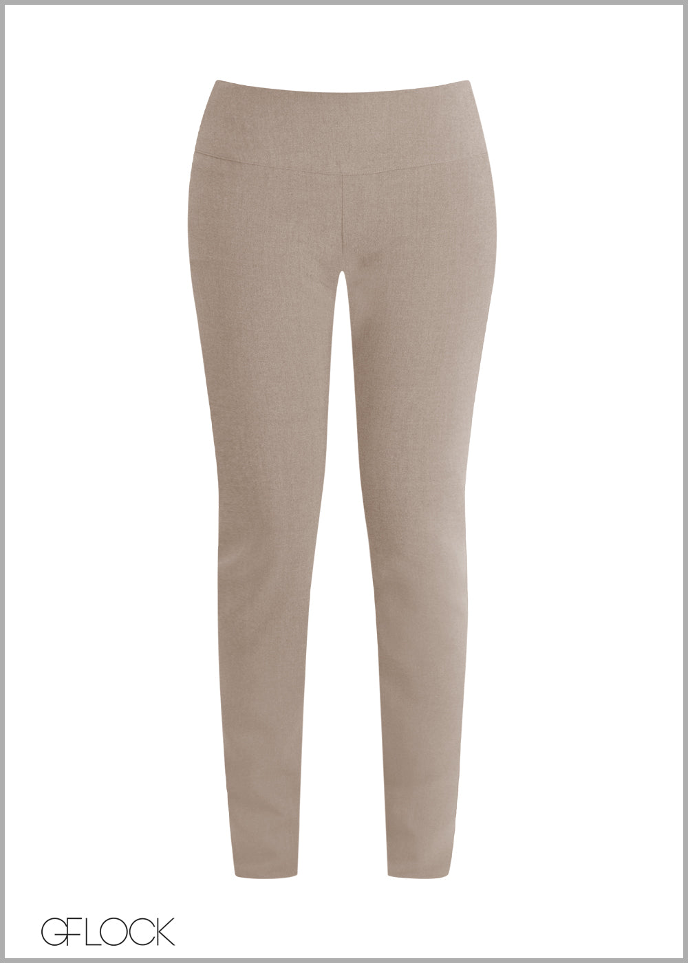 High Waist Work Wear Pant
