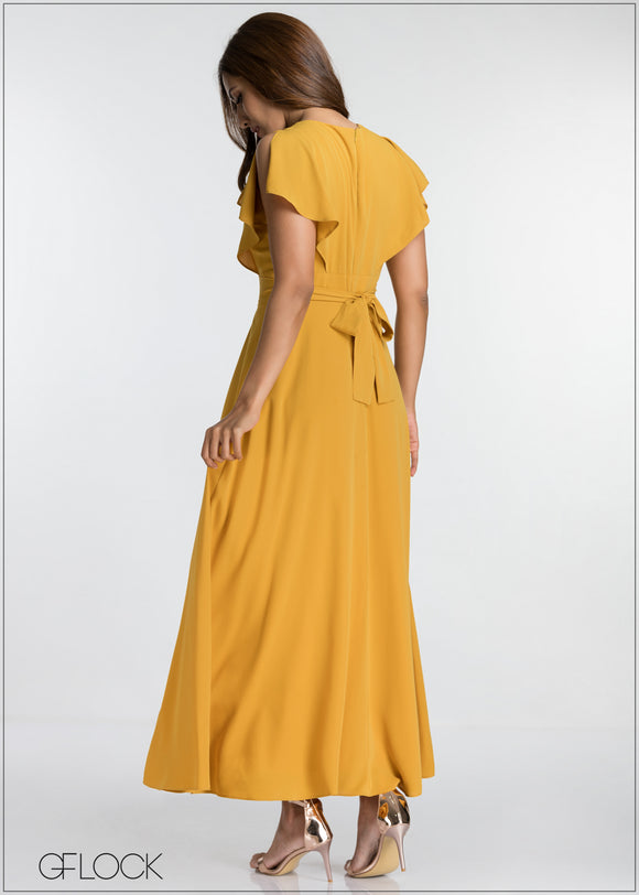 Back Tie Maxi Dress
