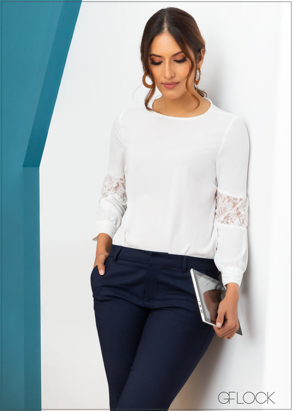 Top with Lace Detail - WW 2611
