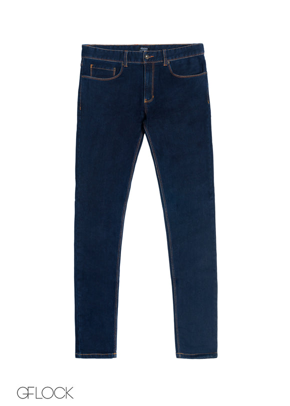 Deep Blue Raw Washed Jean