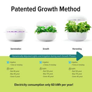 Plantui Patented Growth Method Technology Irrigation light