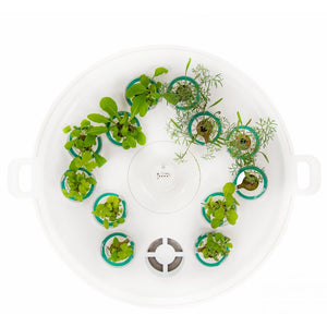 Plantui Green Kit Pre-Grow Smart Garden White